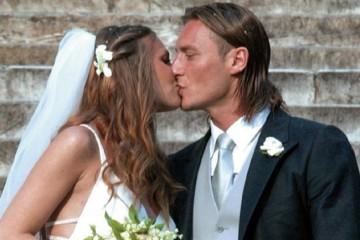 Roma, 19 giugno 2005, chiesa di Santa Maria in Aracoeli. Matrimonio con Ilary