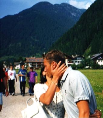 Predazzo, Val Badia, 4 agosto 1998. Ritiro estivo della Roma in preparazione della stagione 1998-1999. Il mio primo incontro dal vivo con Francesco