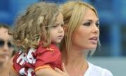 La moglie Ilary Blasi e la figlia Chanel