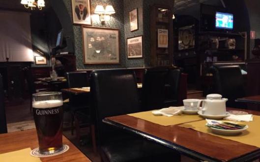 Interno del Flann O'Brien di Roma (immagine tratta da TripAdvisor)